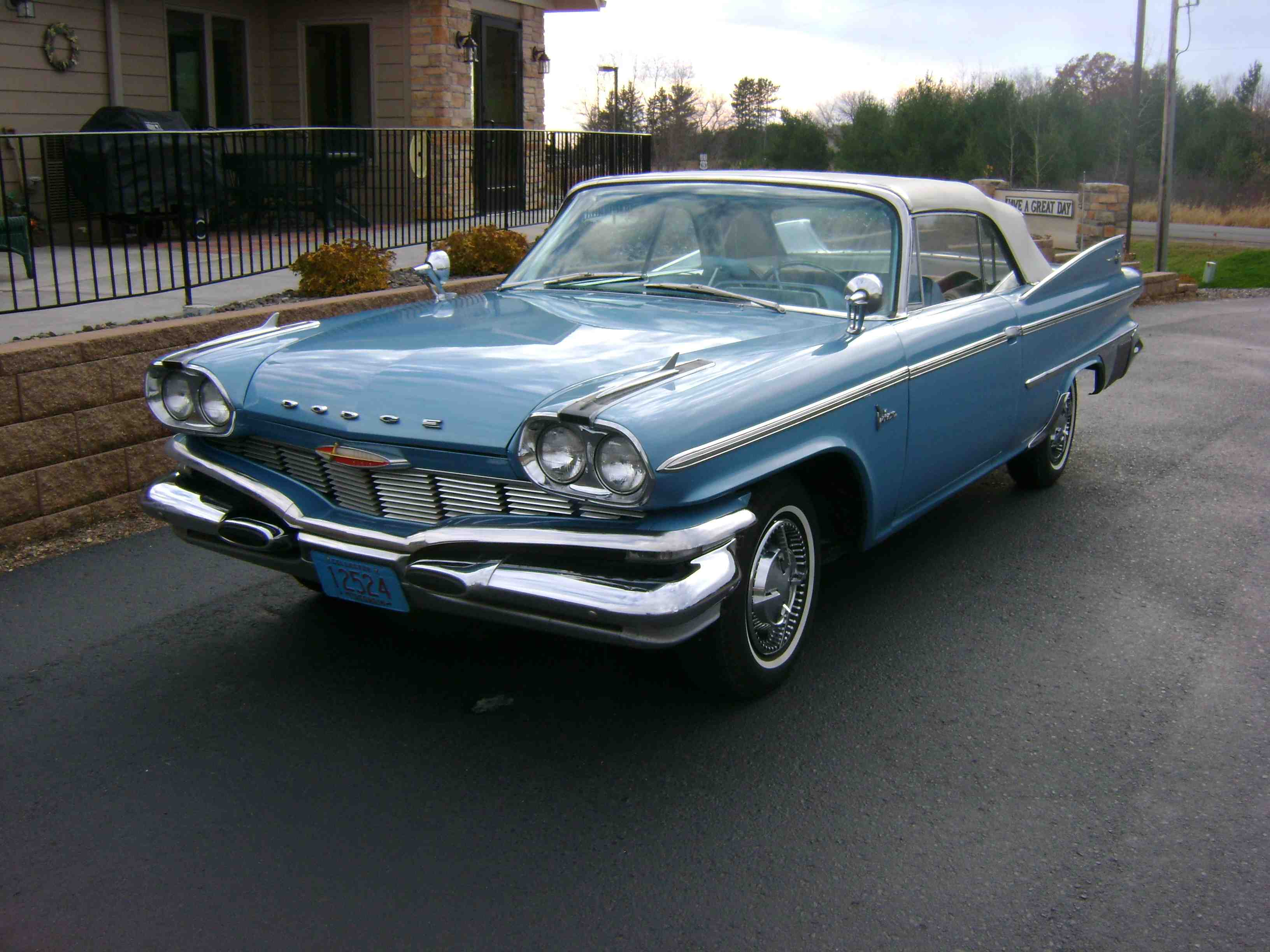 1960 Dodge Polara Convertible D500