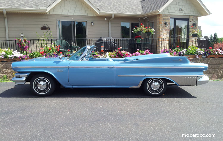 1960 Dodge Polara D500 Convertible