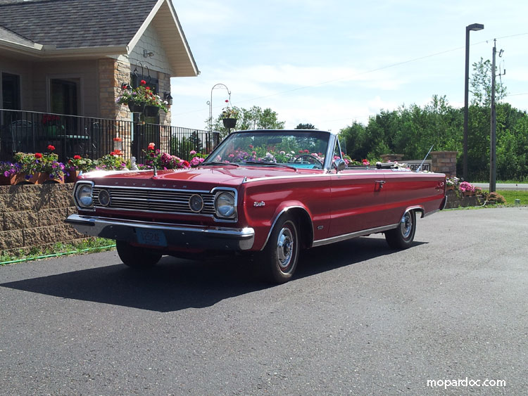 1966 Plymouth Satellite Hemi Convertible
